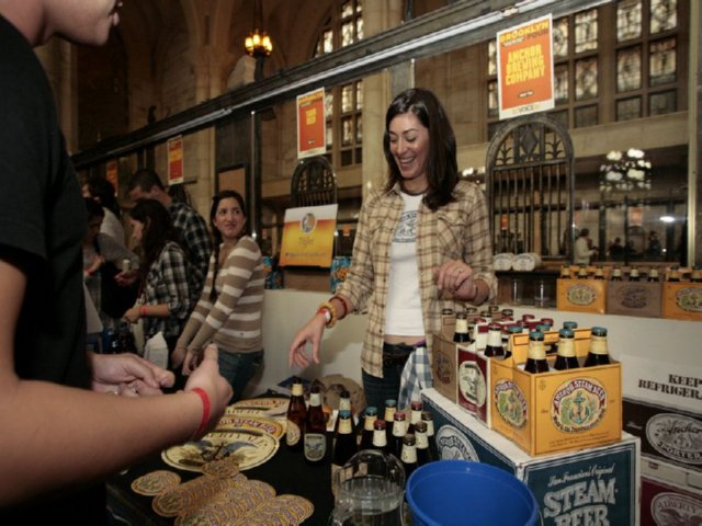 Brooklyn Pour Good Cheer and Fine Beer