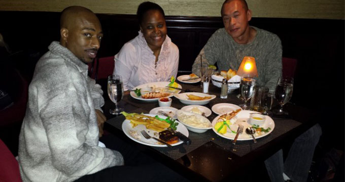 Tripping Around The Places We Love!  Shula's Steak House