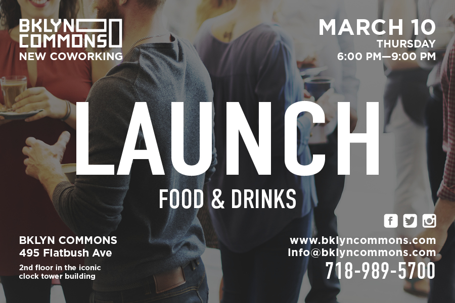 BKLYN Commons Launches New Space with Mix & Mingle Event