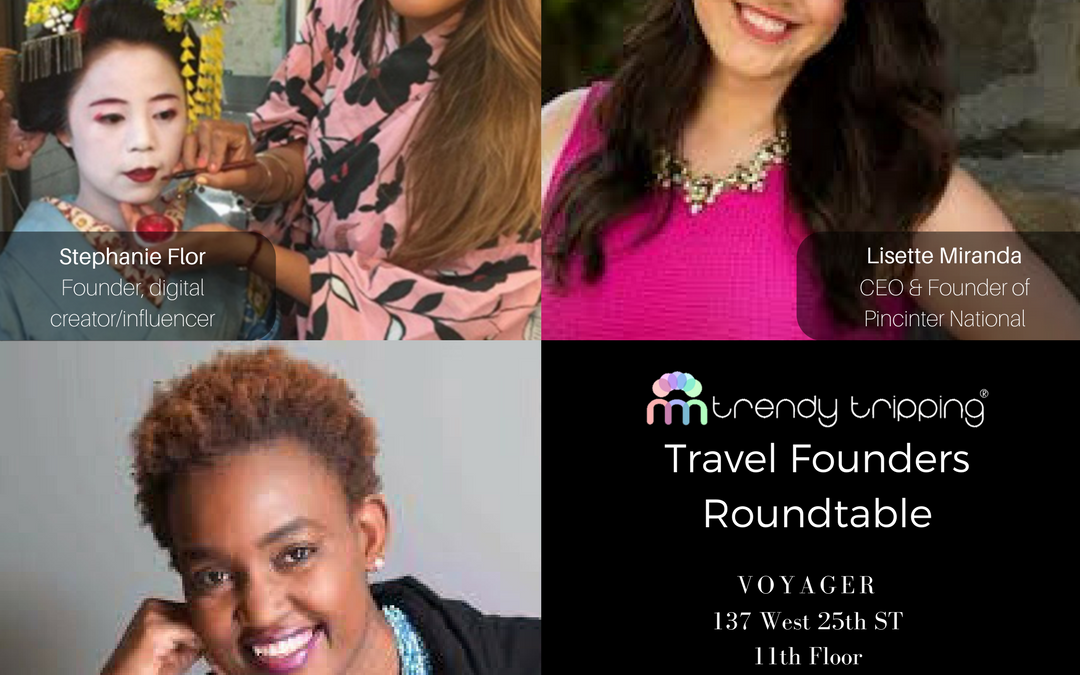 Travel Founders Roundtable co-hosted by VoyagerHQ March 30
