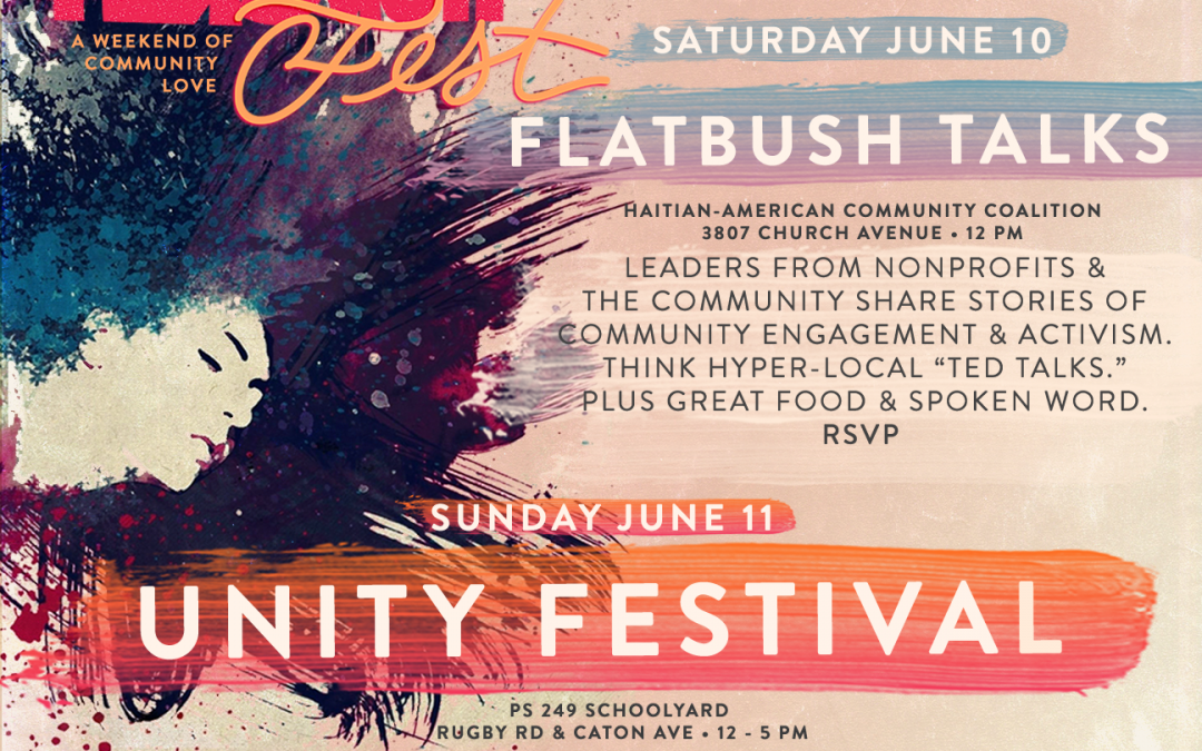 Flatbush Fest – Kick off Party, June 9 @BKLYNCommons