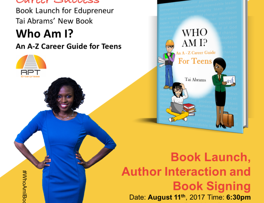 Book launch for Edupreneur Tai Abram's, August 11th @BKLYN Commons