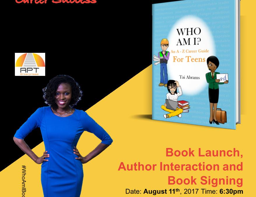 Book launch for Edupreneur Tai Abram's, August 11th @BKLYN Commons
