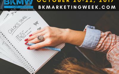 October 20-22 Brooklyn Marketing Week (#BKMW17)