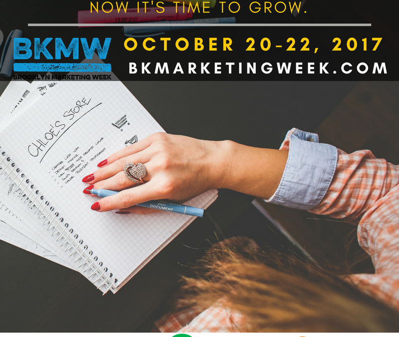October 20-22 Brooklyn Marketing Week (#BKMW17)
