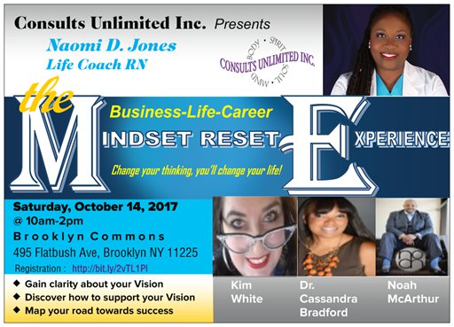 October 14th The Mindset-Reset Experience
