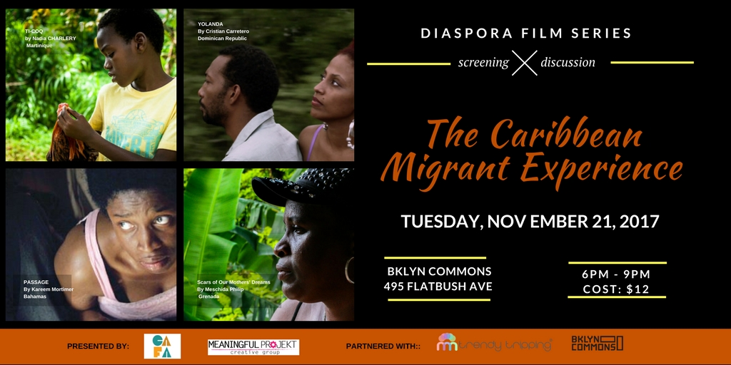 10/21 the Diaspora Film Series – Migration Experience
