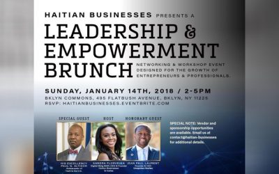 Jan 14th: Haitian Business Leadership and Empowerment Brunch