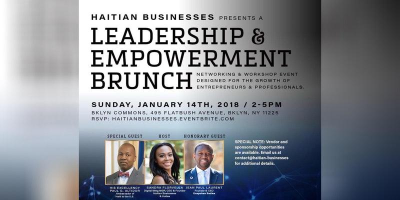 Jan 14th: Haitian Business Leadership and Empowerment Brunch