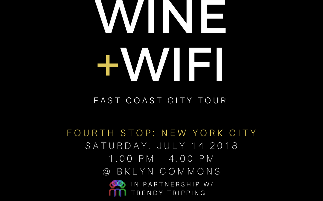 BAUCE  Magazine presents Wine and WIFI 9/29
