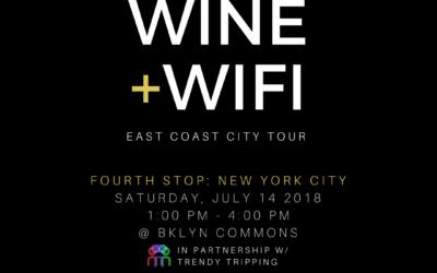 BAUCE  Magazine presents Wine and WIFI 9/29