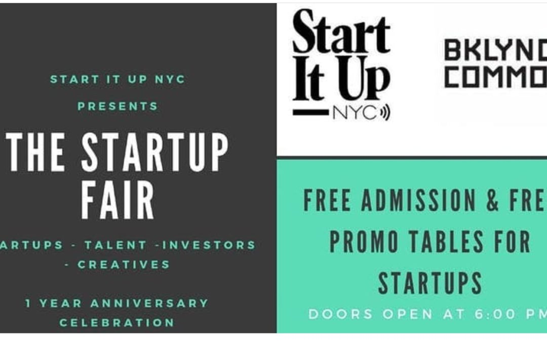 StartUp Fair : An Anniversary Celebration 10/25