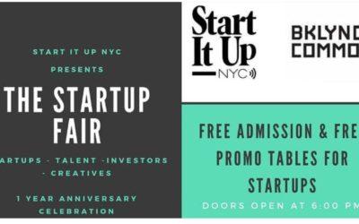 StartUp Fair : An Anniversary Celebration 10/25